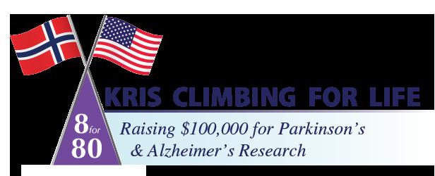 Kris Climbing for Life