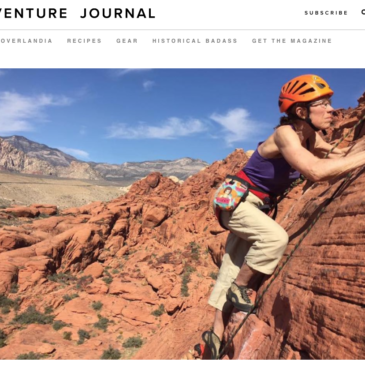 Kris Featured in Adventure Journal!