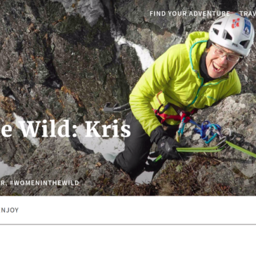 Kris Featured on Outdoor Project